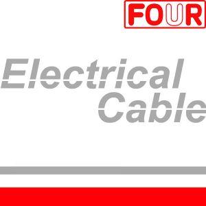 Rainbow flat cable (UL 20029)